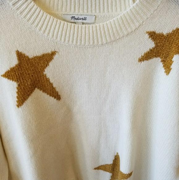 Madewell Sweaters - Madewell star sweater nwot f8888b223
